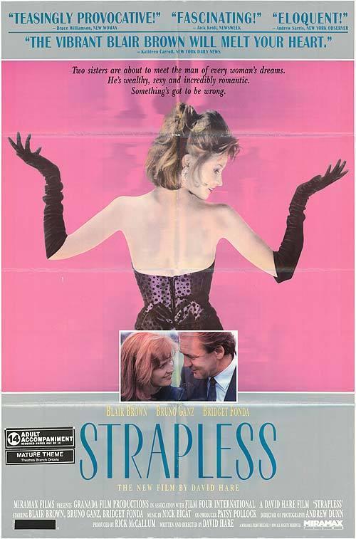 affiche du film Strapless