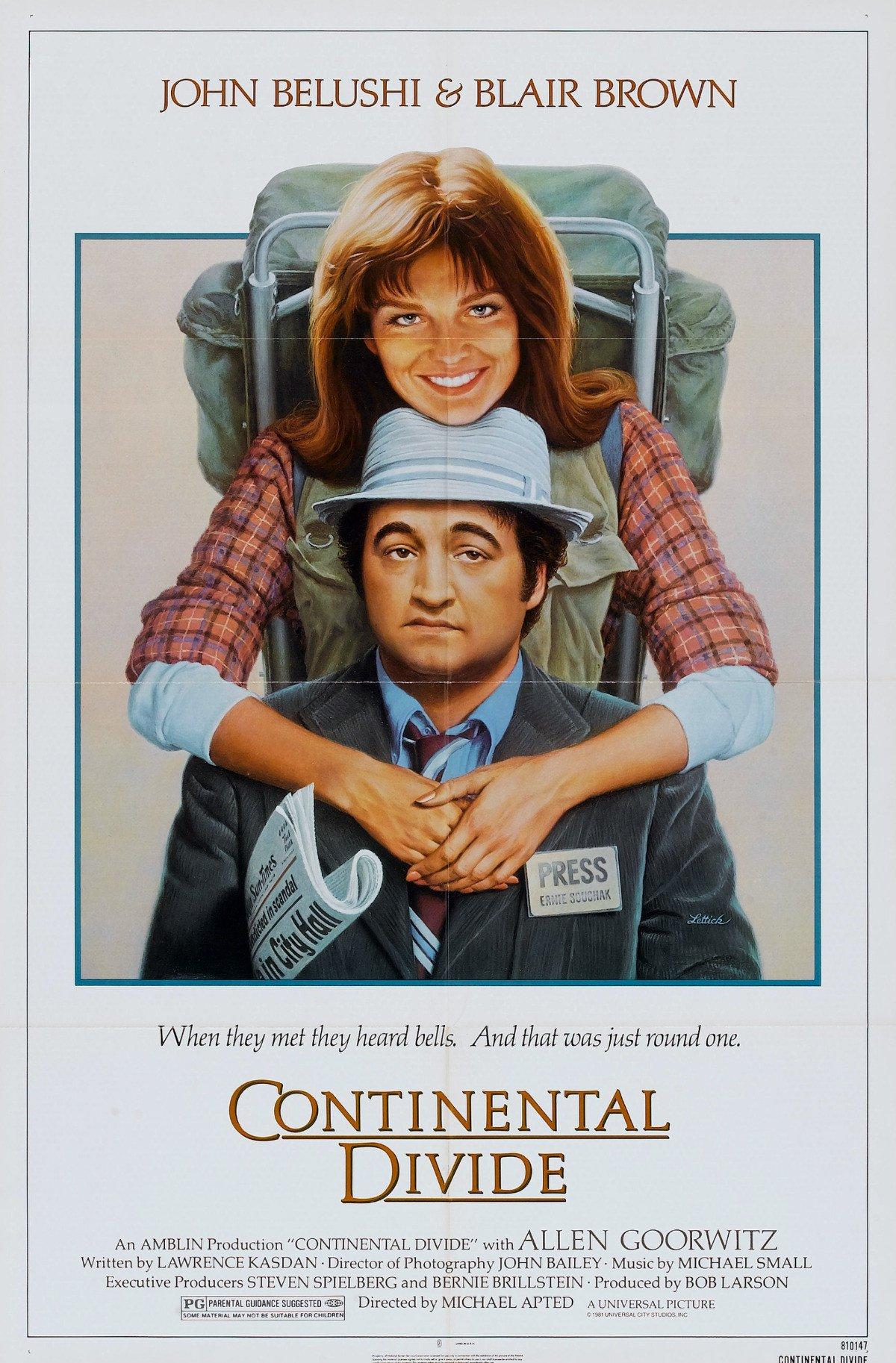 affiche du film Continental Divide