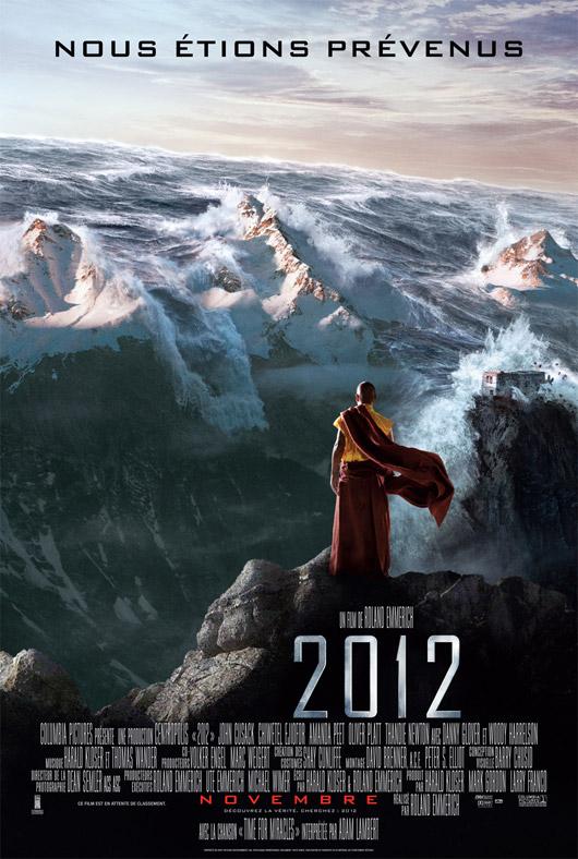 affiche du film 2012