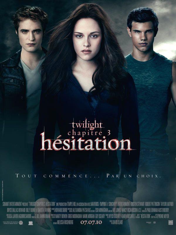affiche du film Twilight : Chapitre 3 - Hésitation