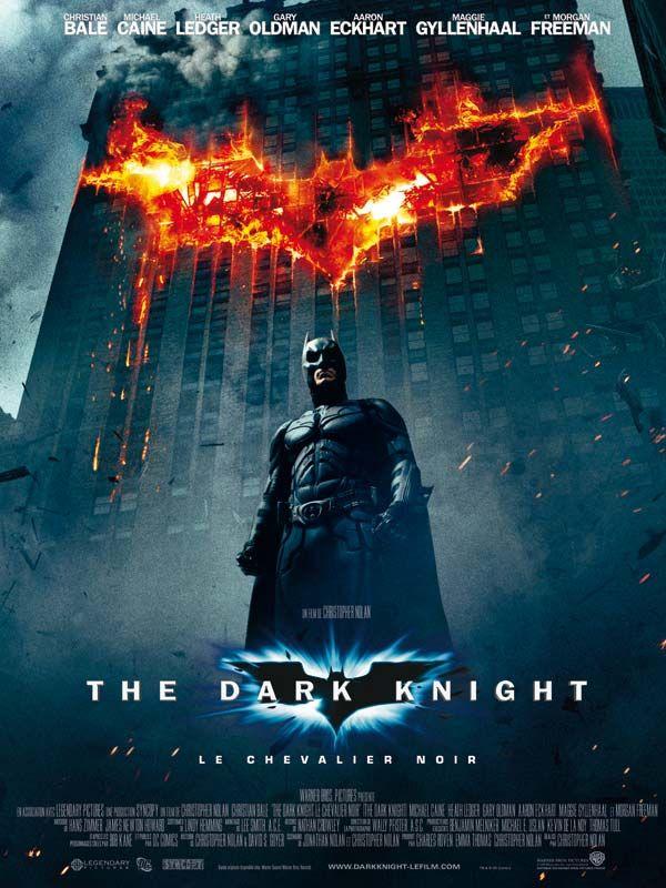 affiche du film The Dark Knight : Le chevalier noir