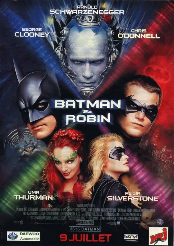 affiche du film Batman & Robin