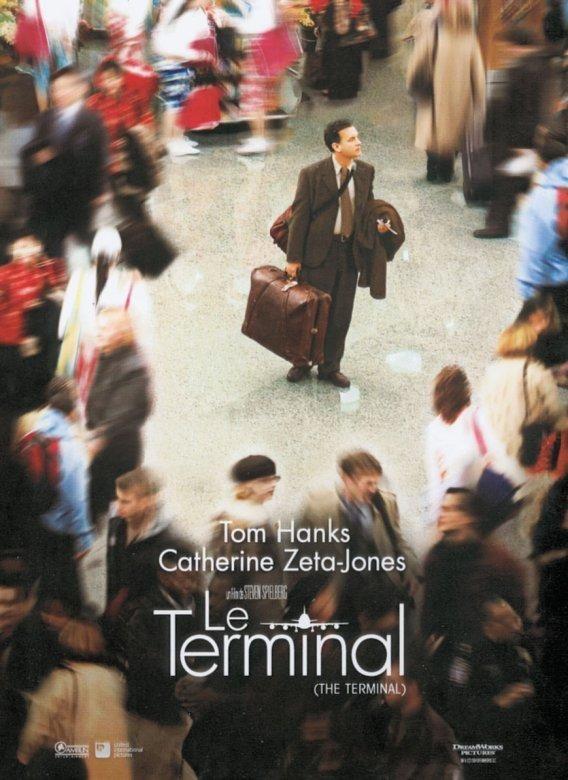 affiche du film Le terminal