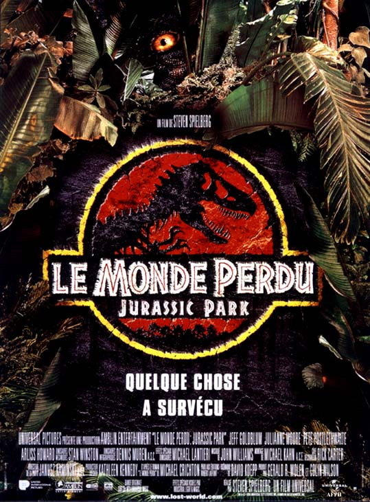 affiche du film Jurassic Park 2 : Le monde perdu
