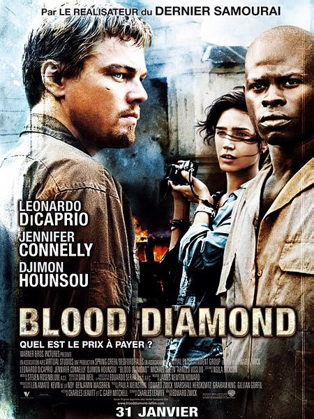 affiche du film Blood Diamond