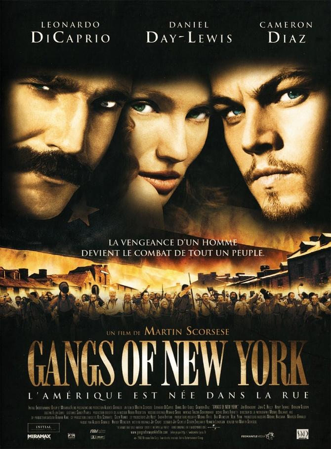 affiche du film Gangs of New York