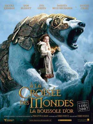affiche du film À la croisée des mondes : La boussole d'or