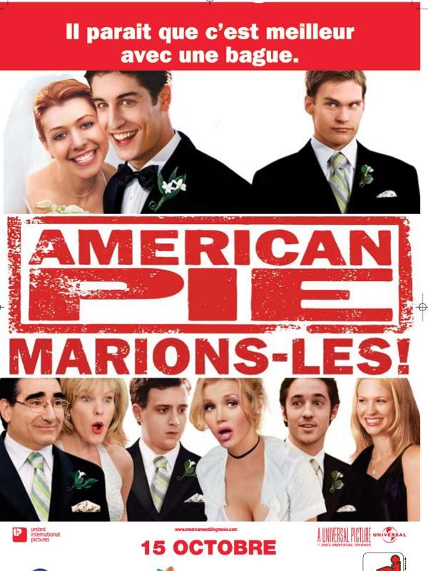 affiche du film American Pie : Marions-les !