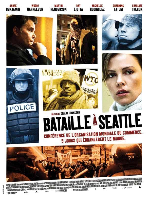 affiche du film Bataille à Seattle