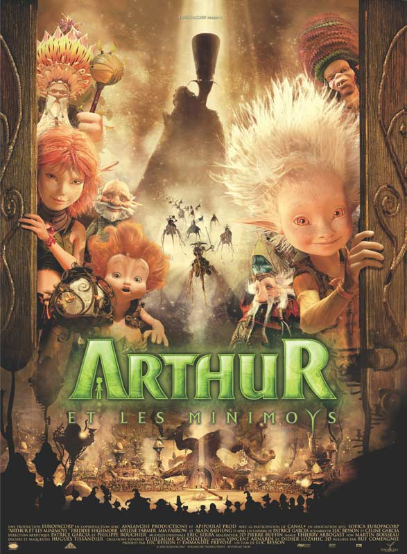 affiche du film Arthur et les Minimoys