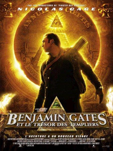 affiche du film Benjamin Gates et le Trésor des Templiers