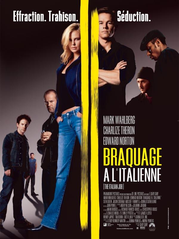 affiche du film Braquage à l'italienne