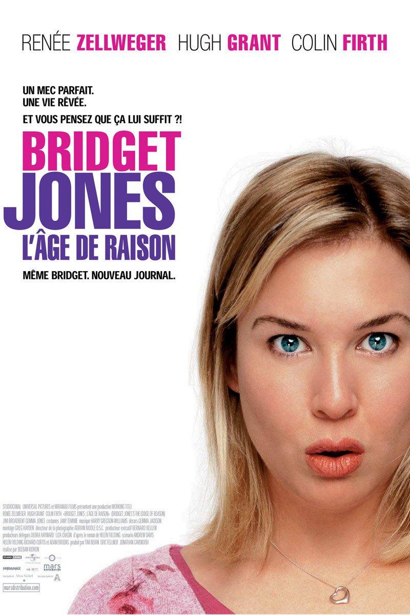 affiche du film Bridget Jones : L'âge de raison