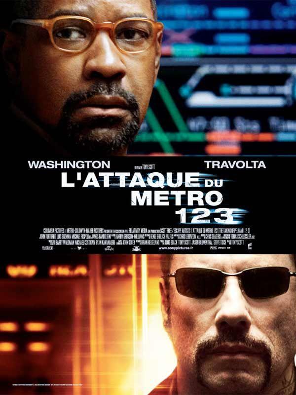 affiche du film L'attaque du métro 123