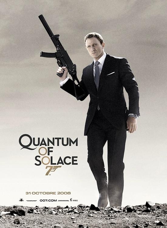 affiche du film Quantum of Solace