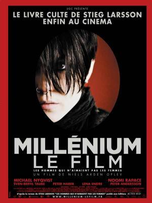 affiche du film Millénium, le film : Les hommes qui n'aimaient pas les femmes