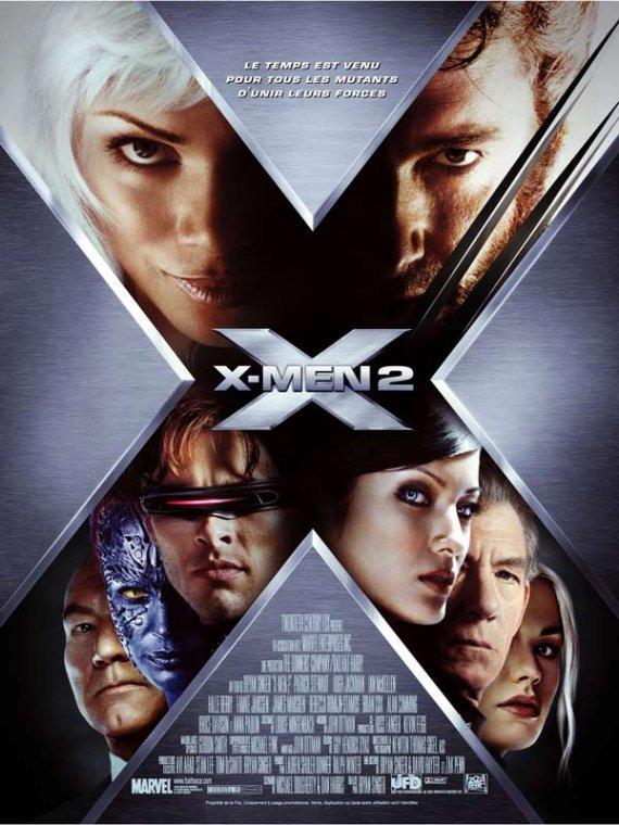 affiche du film X-Men 2