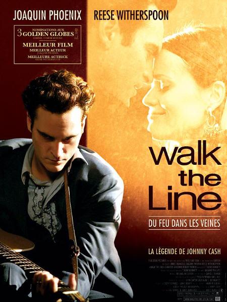 affiche du film Walk the Line