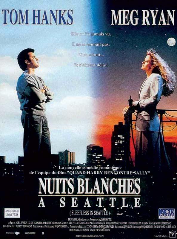 affiche du film Nuits blanches à Seattle