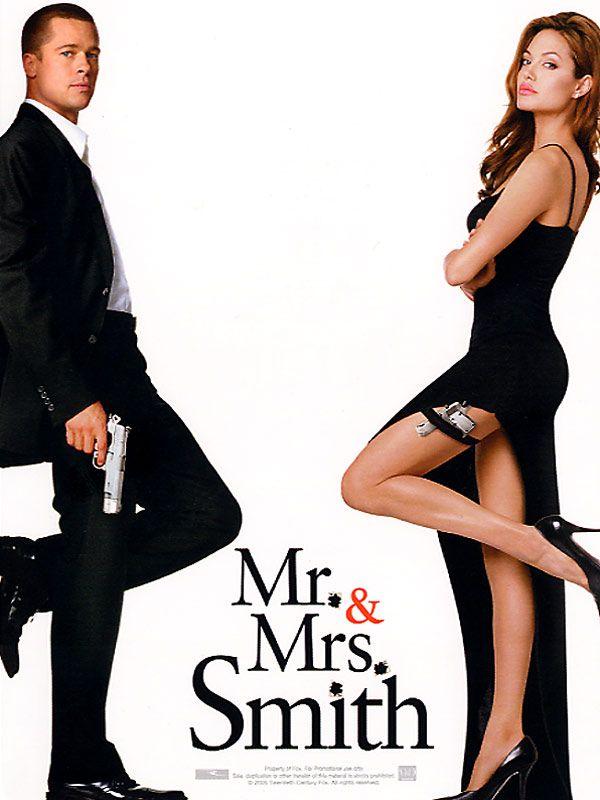 affiche du film Mr. & Mrs. Smith