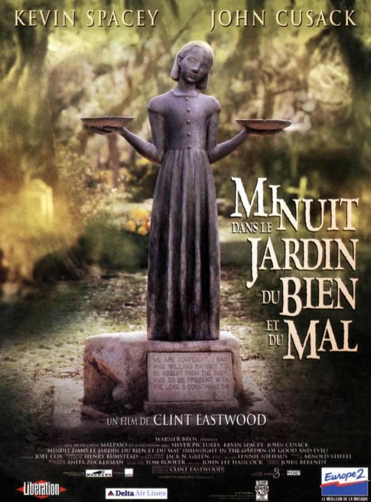 affiche du film Minuit dans le jardin du bien et du mal