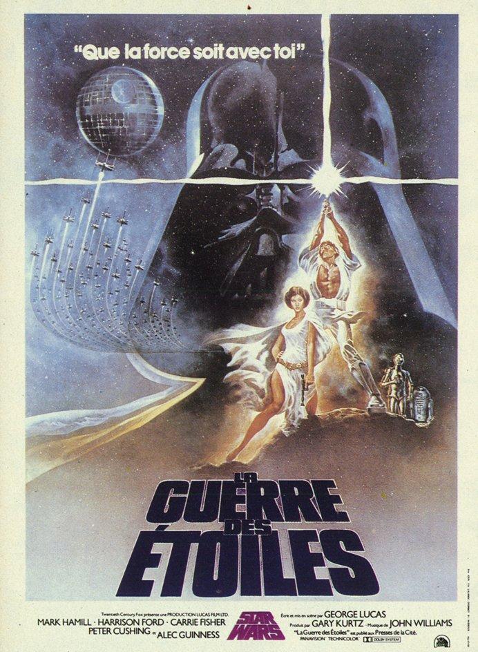 affiche du film Star Wars : Épisode 4 - La Guerre des étoiles