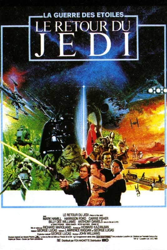 affiche du film Star Wars : Épisode VI - Le retour du Jedi