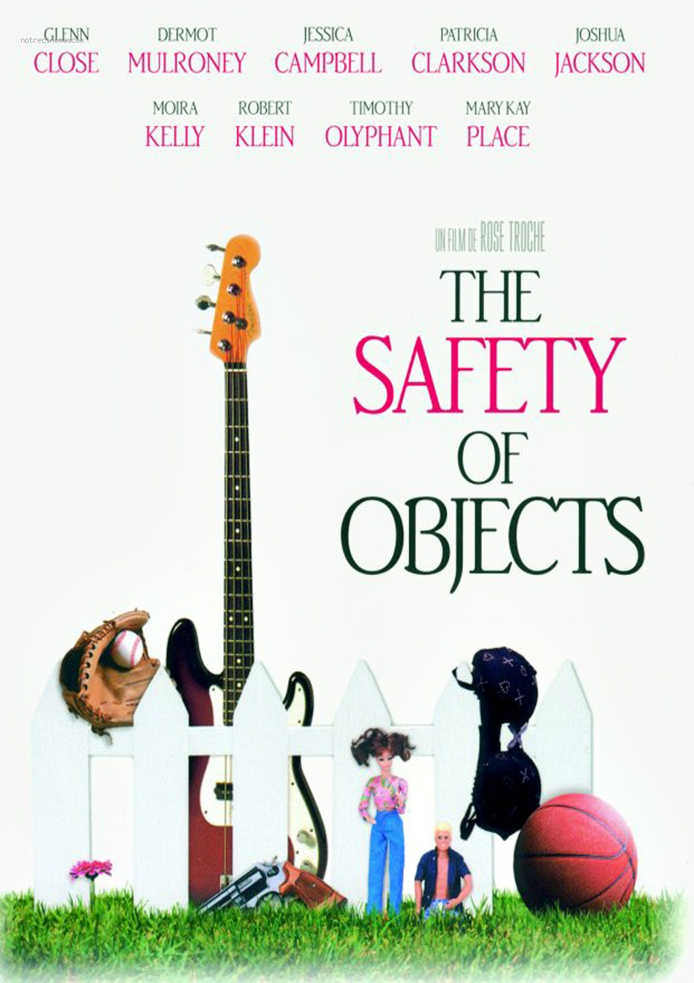 affiche du film The Safety of Objects