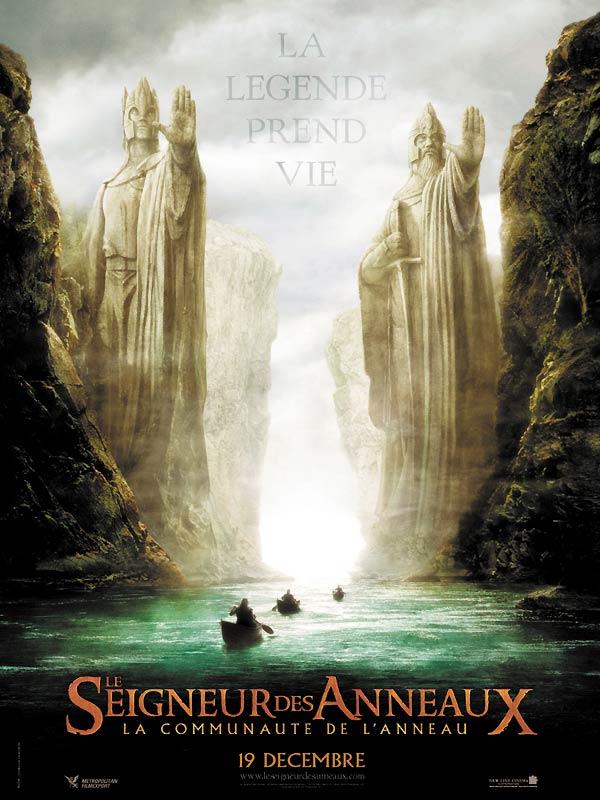 affiche du film Le Seigneur des Anneaux : La Communauté de l'anneau