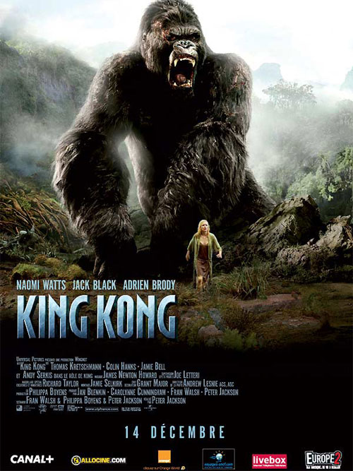 affiche du film King Kong (2005)