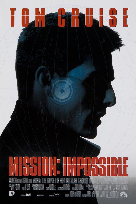 affiche du film Mission: Impossible