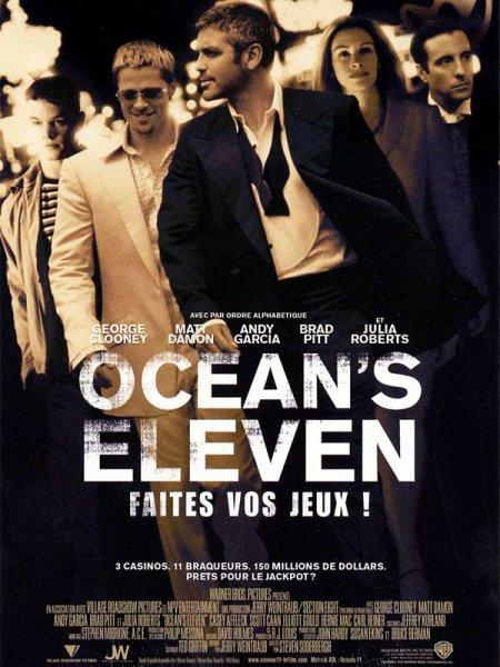 affiche du film Ocean's 11