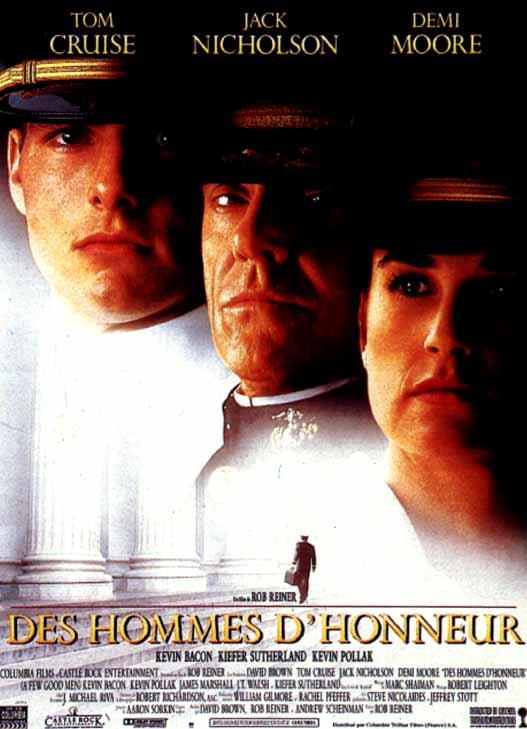 affiche du film Des hommes d'honneur