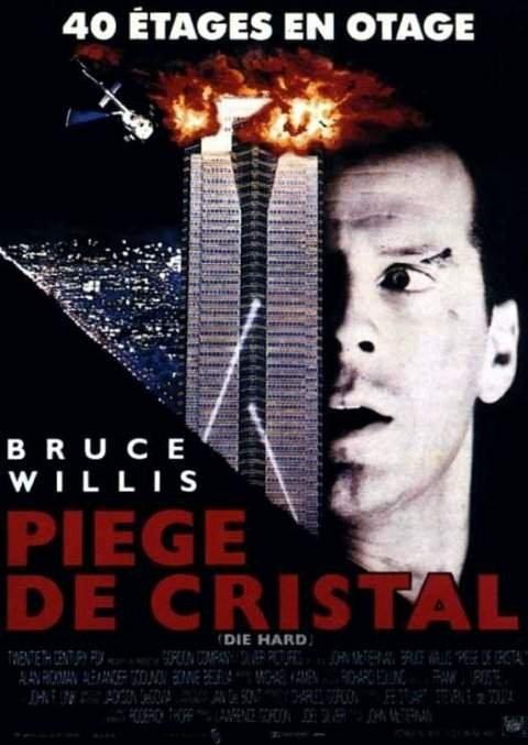 affiche du film Die Hard 1 : Piège de cristal