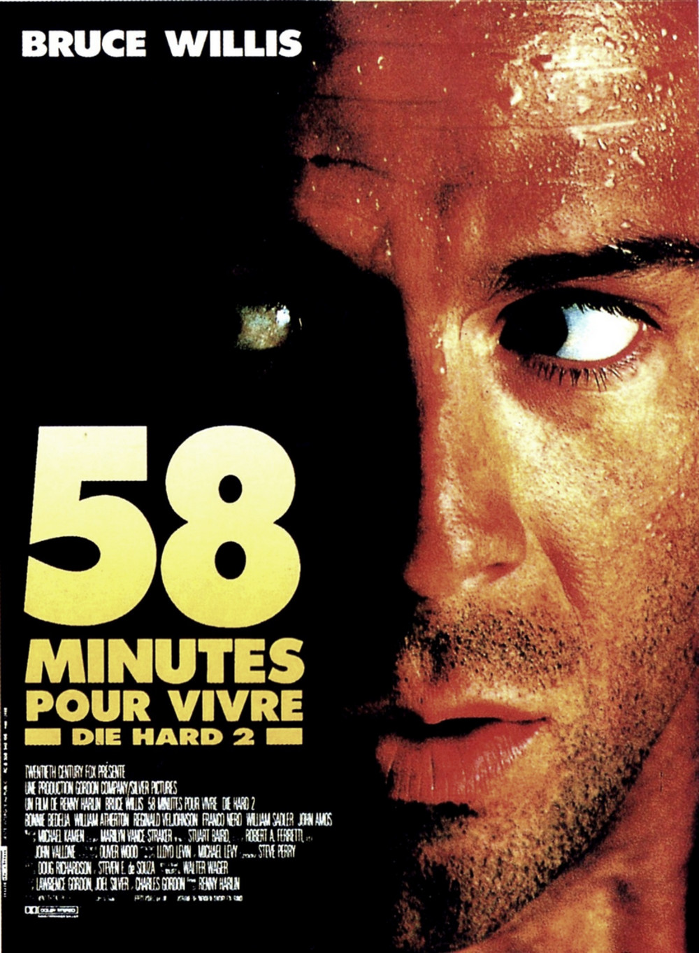 affiche du film 58 minutes pour vivre
