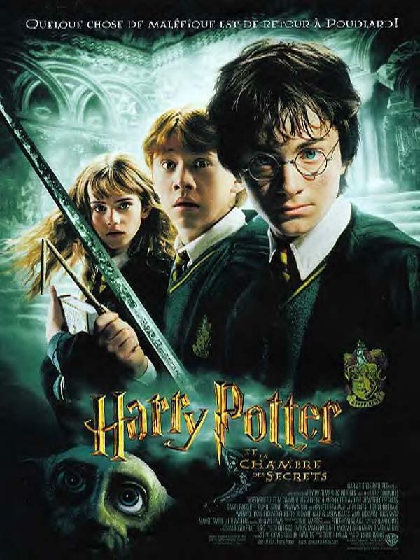affiche du film Harry Potter et la chambre des secrets
