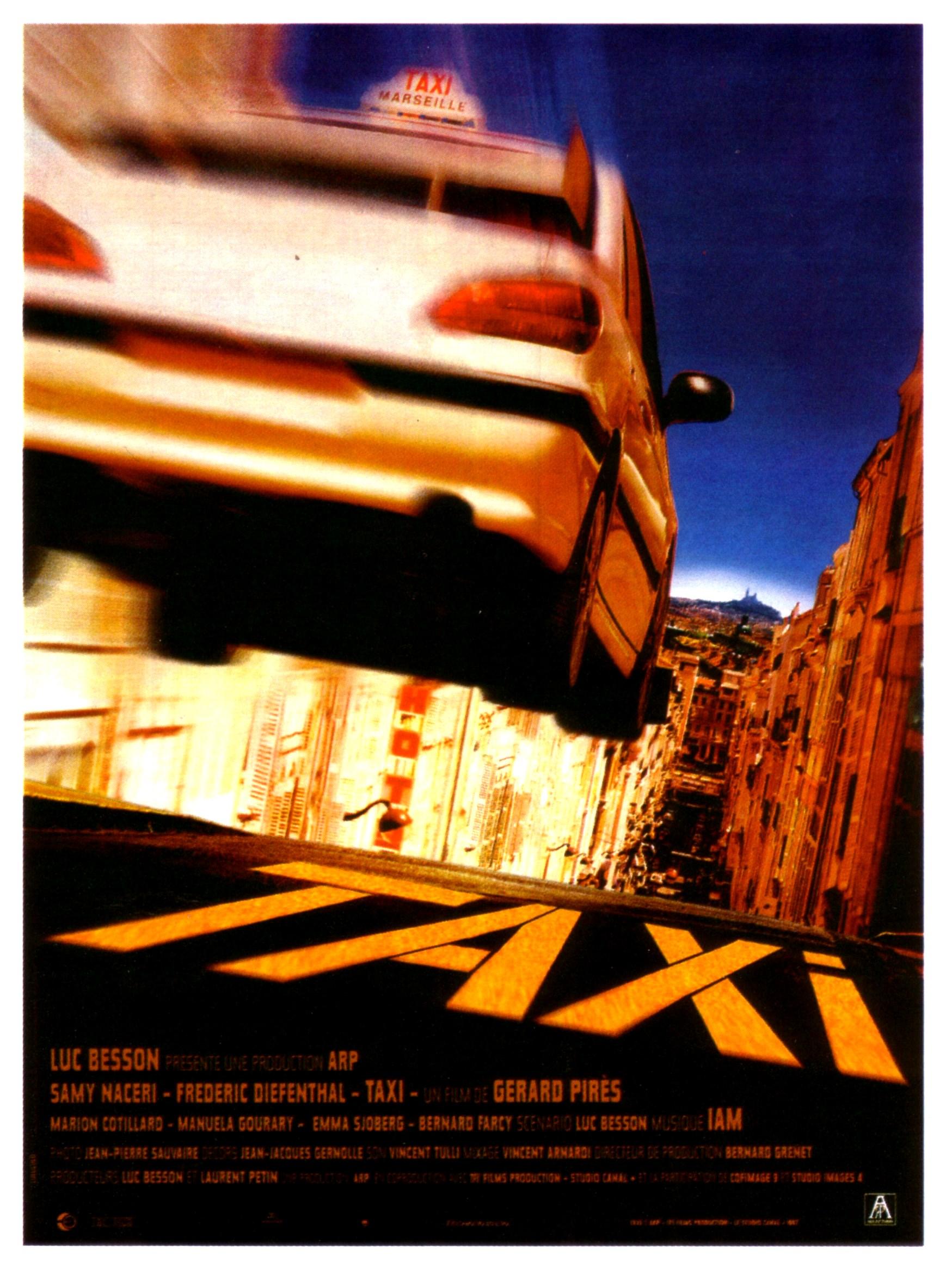 affiche du film Taxi