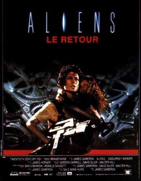 affiche du film Aliens : Le retour