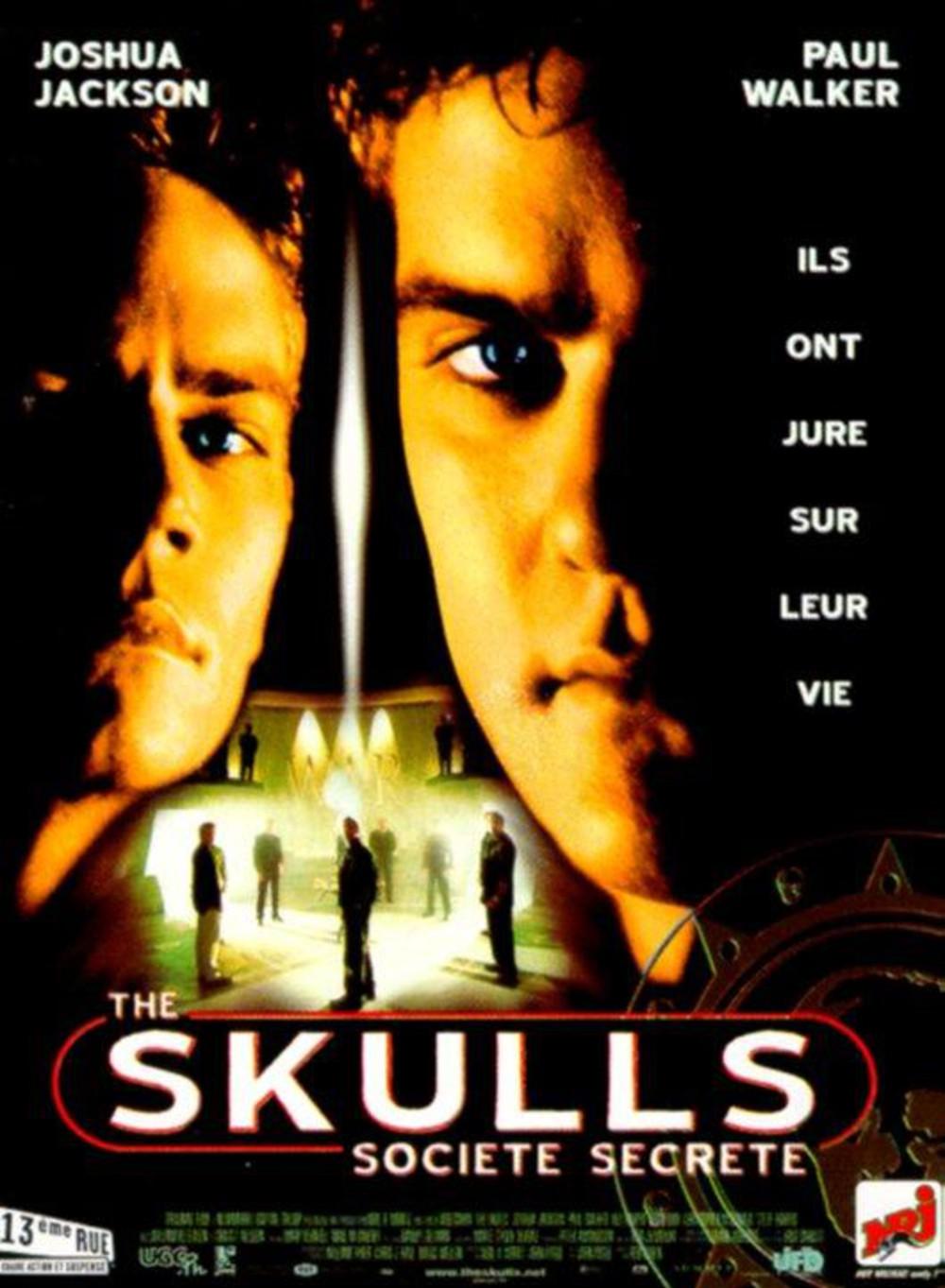 affiche du film The Skulls, société secrète