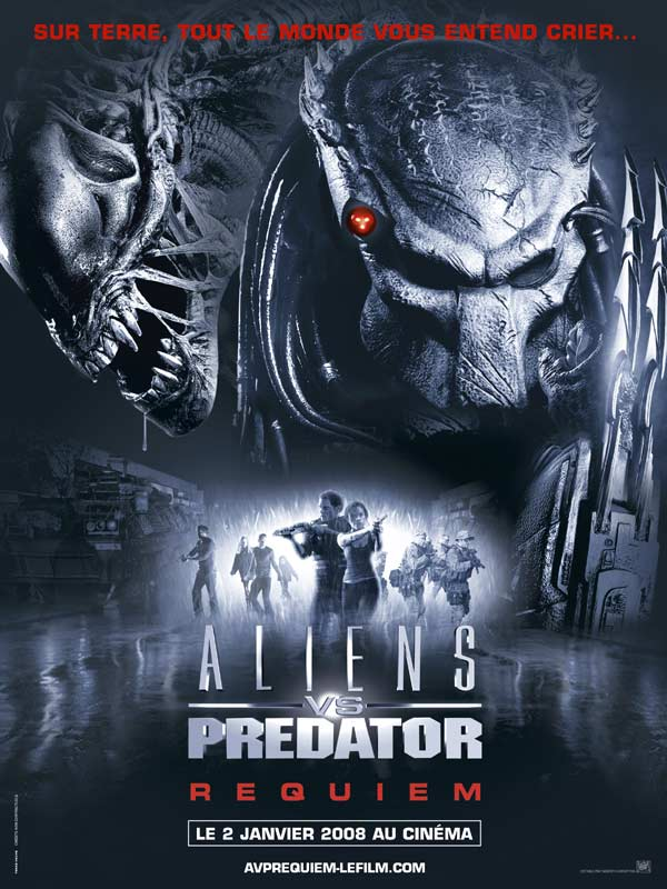 affiche du film Aliens vs. Predator Requiem