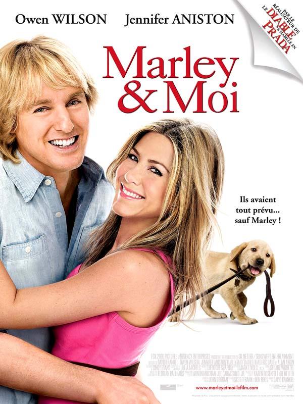 affiche du film Marley & moi