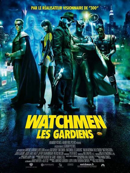 affiche du film Watchmen : Les gardiens