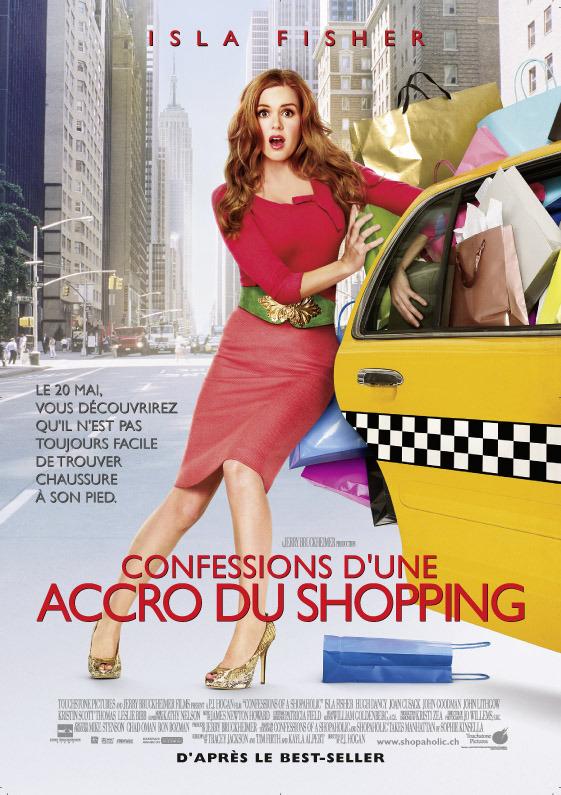 affiche du film Confessions d'une accro du shopping