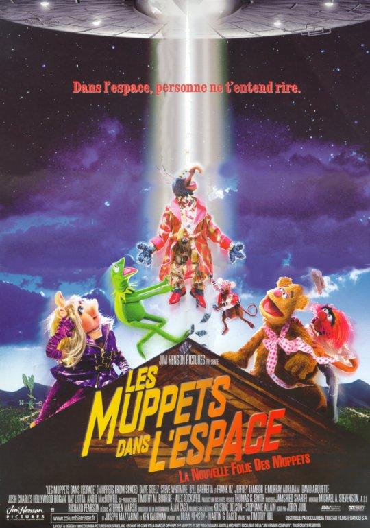 affiche du film Les Muppets dans l'espace