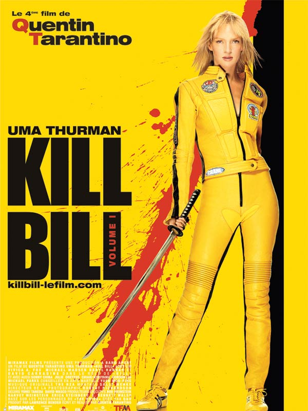 affiche du film Kill Bill: Volume I