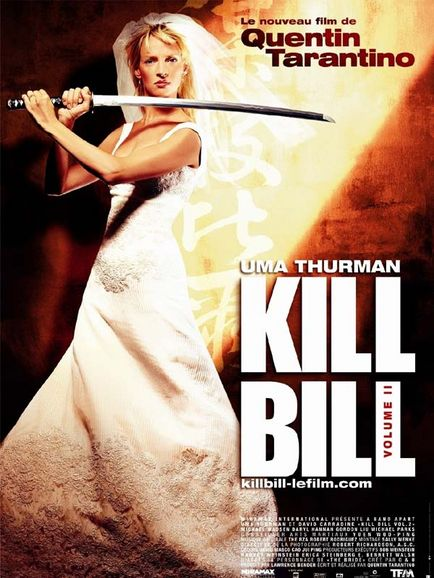 affiche du film Kill Bill: Volume II