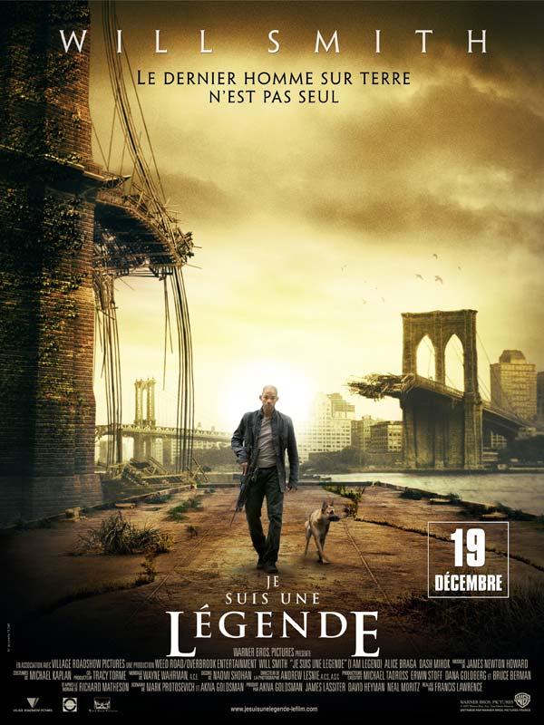affiche du film Je suis une légende (2007)