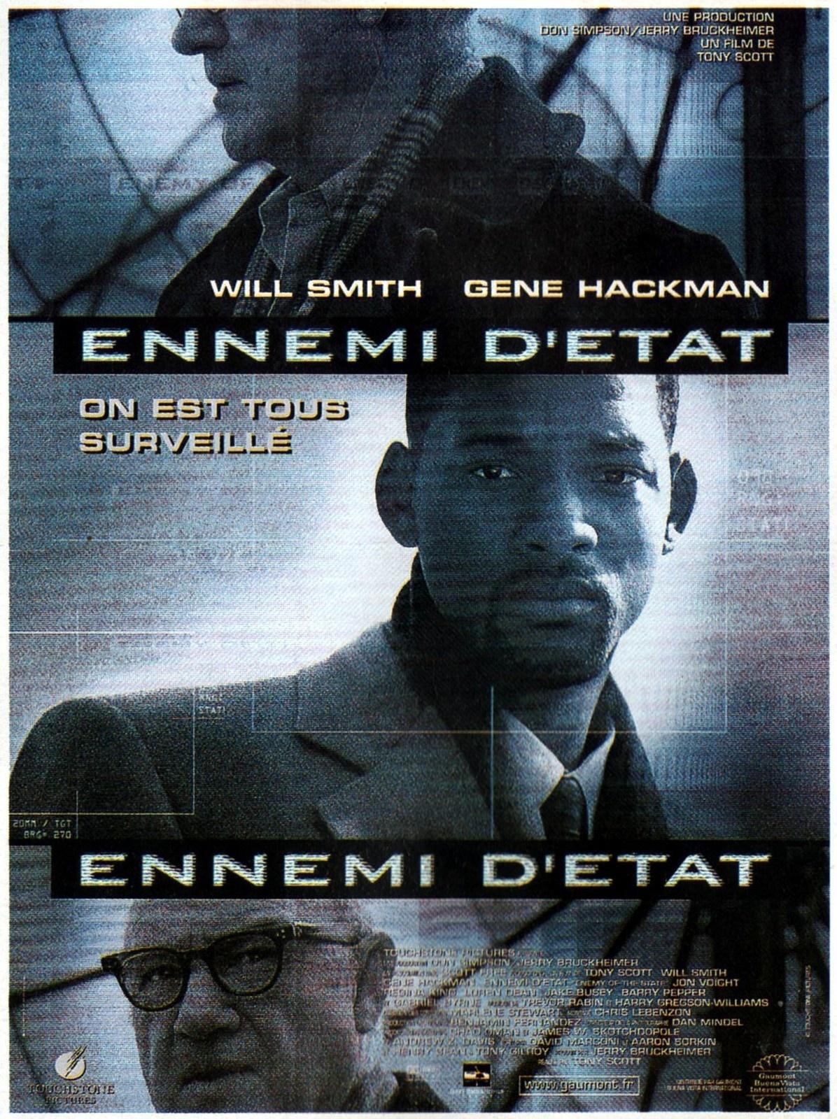 affiche du film Ennemi d'État