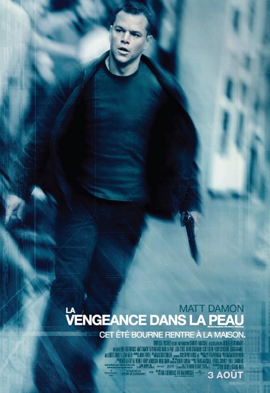 affiche du film La Vengeance dans la peau