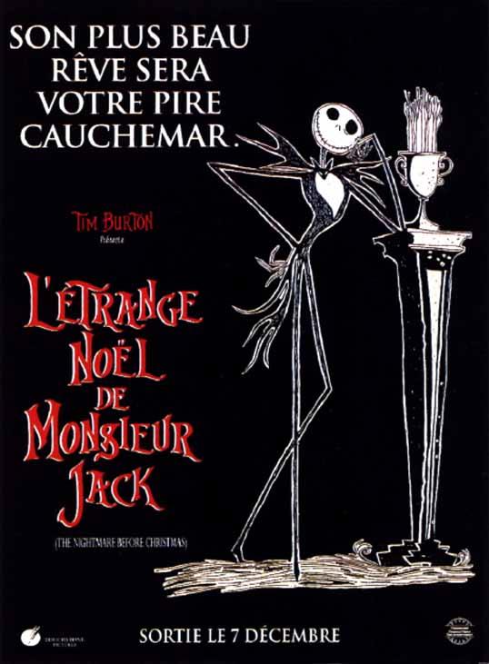 affiche du film L'Étrange Noël de Monsieur Jack